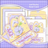 Just Ducky Easel Card