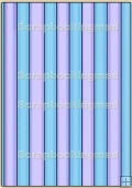 Backing Papers Single - Blue Stripes - REF_BP_53