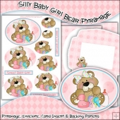 Silly Baby Girl Bear PDF Pyramage Download