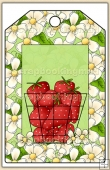 Strawberry Patch Tag - REF_T465