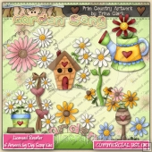 Garden Song ClipArt Graphic Collection