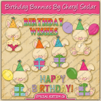 SPECIAL EDITION Birthday Bunnies Collection - REF - CS