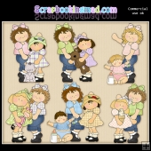 My Big Sister ClipArt Graphic Collection