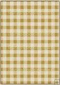 A4 Backing Papers Single - Brown Gingham - REF_BP_150