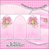 Wedding Tri Fold Card & Envelope