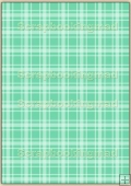 A4 Backing Papers Single - Green Gingham - REF_BP_139