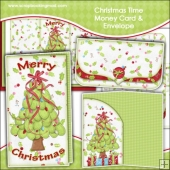 Christmas Time Money Card & Envelope