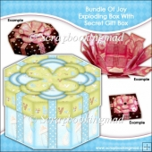 Bundle Of Joy Exploding Box With Secret Gift Box