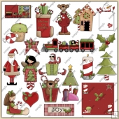 Christmas Thyme 1 ClipArt Graphic Collection