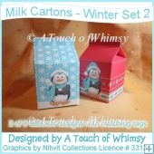 Milk Cartons - Winter Set 2