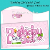 Birthday Girl Quick Card