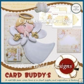 Hark the Herald Angel Shaped Fold Card Kit