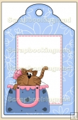 Purse Pets Gift Tag - REF_T654