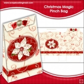 Christmas Magic Pinch Bag