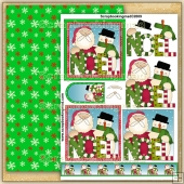 Noel Christmas Duo PDF Decoupage Download