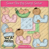 Sweet Pea Graphic Collection - REF - CS