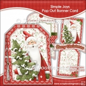 Simple Joys Pop Out Banner Card