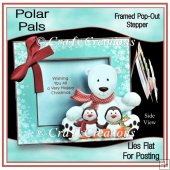Polar Pals - Framed Pop-Out Stepper