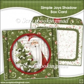 Simple Joys Shadow Box Card and Envelope