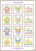 Little Baby Daisy Topper Sheet PDF Download