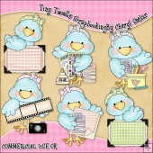 Tiny Tweets Scrapbooking ClipArt Graphic Collection