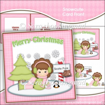 Snowcute Card Front