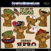 Tibbles The Everyday Hero ClipArt Collection