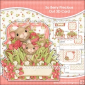 So Berry Precious Pop Out 3D Card & Envelope