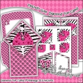 Trendy Girl Diamond Top Card Download