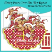 Teddy Bears Over The Top Rocker Card