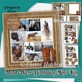 Wild West Birthday Mini Kit