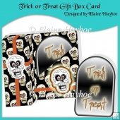 Trick or Treat Gift Box Card