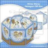 Winter Wishes Hexagon Gift Box
