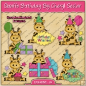 EXCLUSIVE Giraffe Birthday Collection