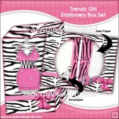 Trendy Girl Stationery Box Set