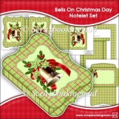 Bells On Christmas Day Notelet Set