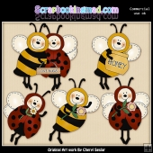 Beez And Ladybugz Graphic Collection