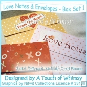 Love Notes & Envelopes - Box Set 1