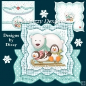 Snow Friends OTT Card