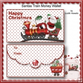 Santas Train Money Wallet