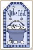 Winter Thyme Tag - REF_T214