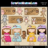 My Favorite Toy ClipArt Collection