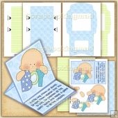 Miracle Baby Boy PDF Easel Card Download