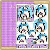 Winter Penguins PDF Pyramage Download