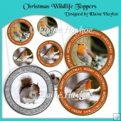 Christmas Wildlife Toppers