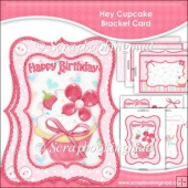 Hey Cupcake Bracket Card Set
