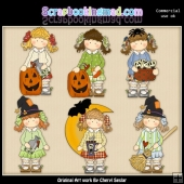 Hollys Spooky Halloween ClipArt Collection