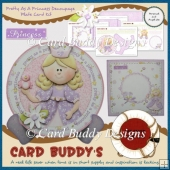 Pretty As A Princess Decoupage Plate Card Kit