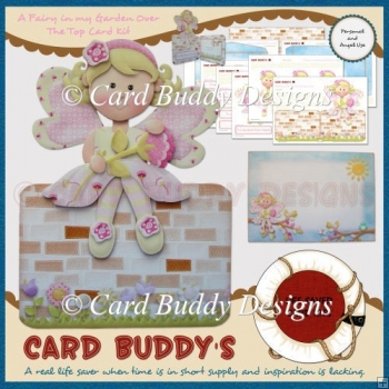 A Fairy in my Garden Over The Top Card Kit