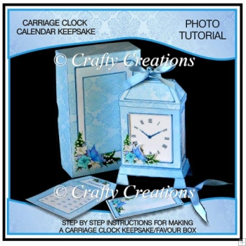 Carriage Clock Keepsake Photo Tutorial